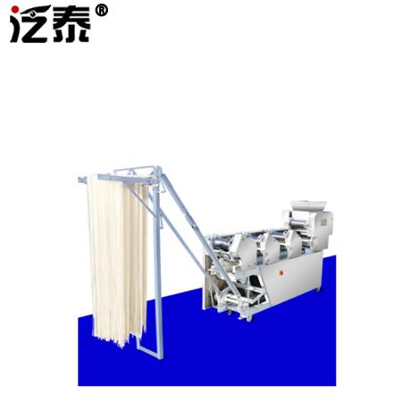 挂面机 大型压面机商用全自动面条机叠皮撒粉一体轧面机 5/6/7组面条机