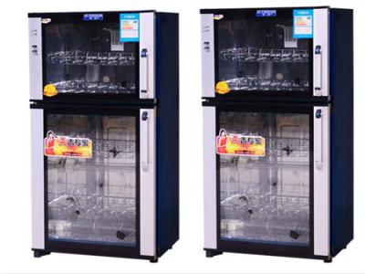 360度消毒杀菌全不锈钢制作无死角红外线杀菌商用型消毒柜
